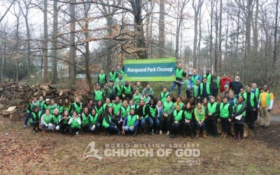 Marquand Park Cleanup