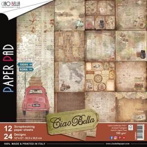paper pad scrapbooking ciao bella