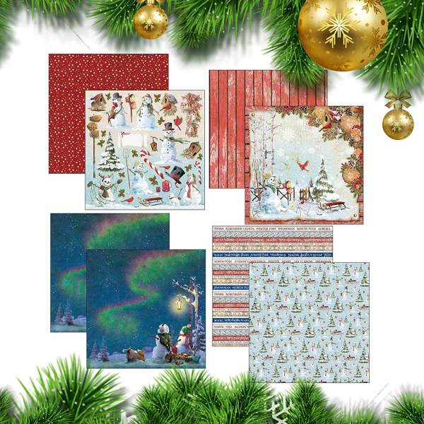 kit scrapbooking complet-northern lights-ciao bella