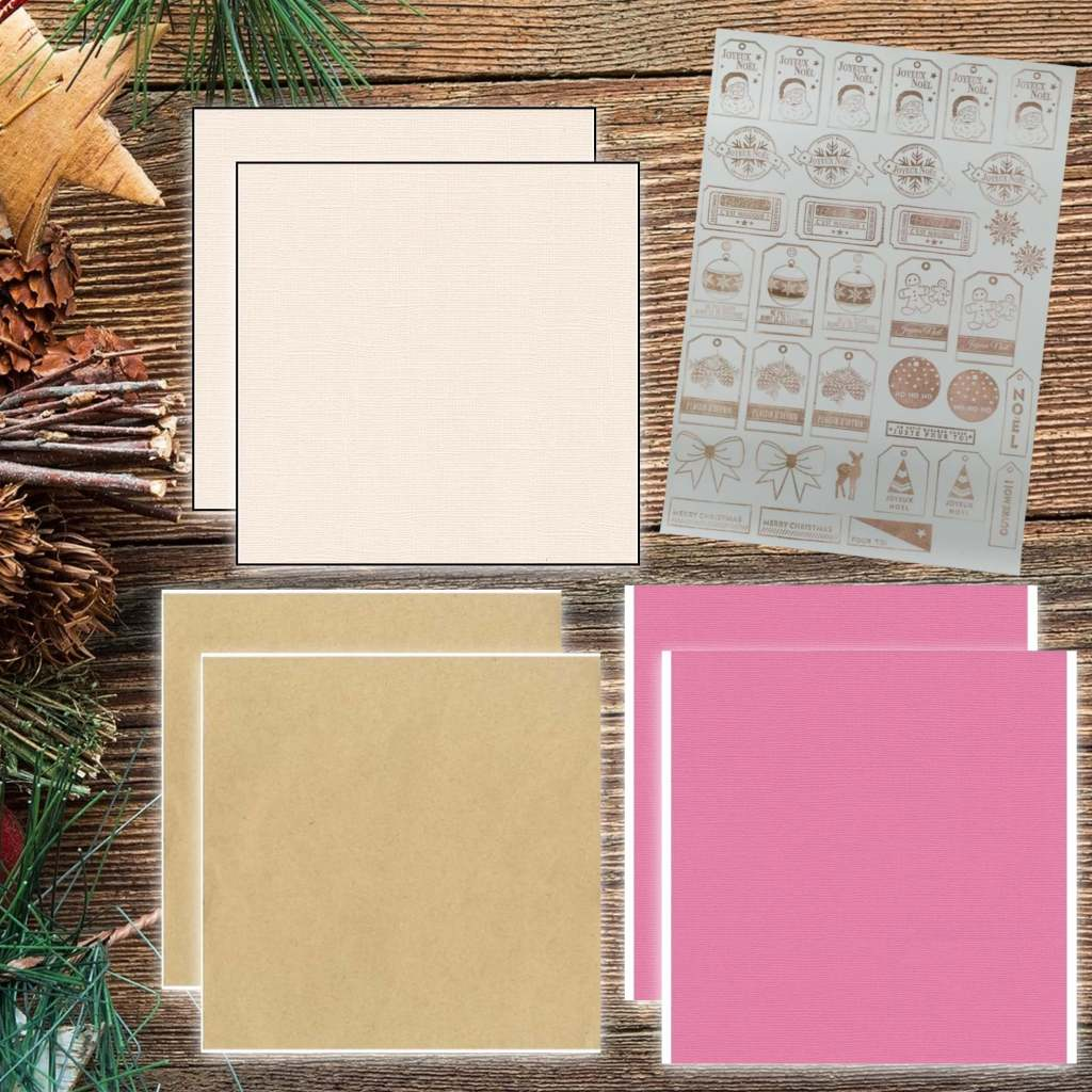 kit scrapbooking complet-papier-northern lights-ciao bella