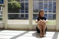 Portrait: sitting in the sun