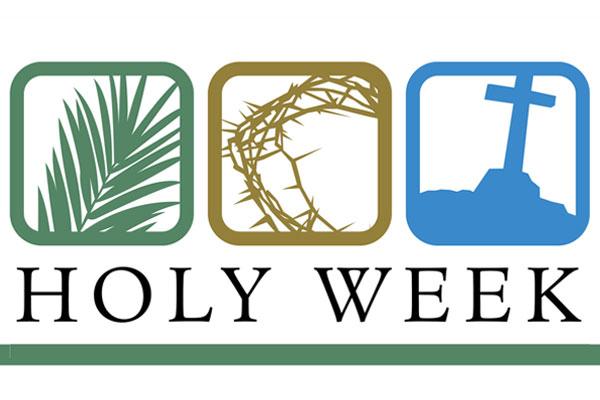 Holy Week April 2020