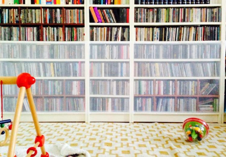 Die CD-Sammlung ist nun baby- und abhörsicher. Bis auf Weiteres.