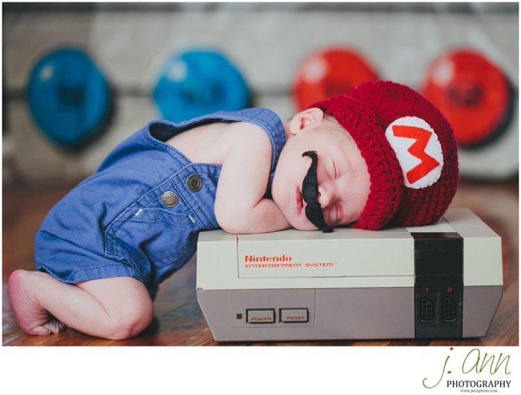 Baby-Kostüm-Super-Mario