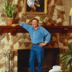 John Newcombe at the Tennis Ranch
