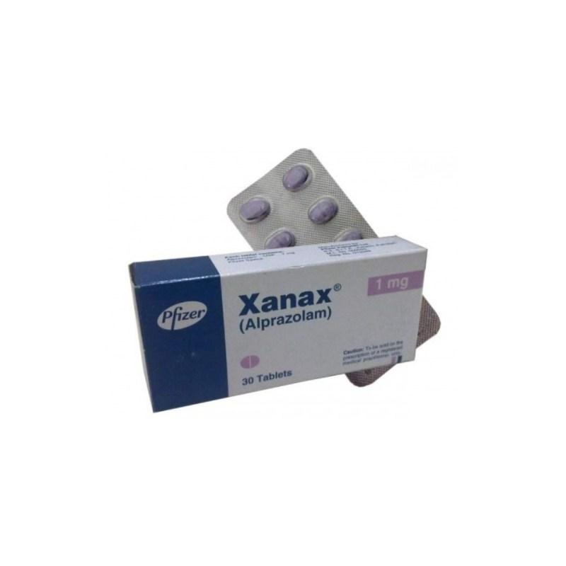 Xanax (Alprazolam) 30 Tablets 1 mg