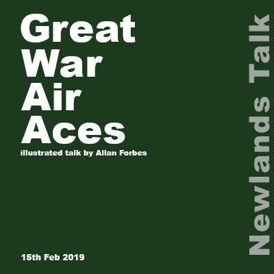 Newlands Talk - Great War Air Aces