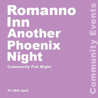 Romanno Inn another Phoenix Night banner