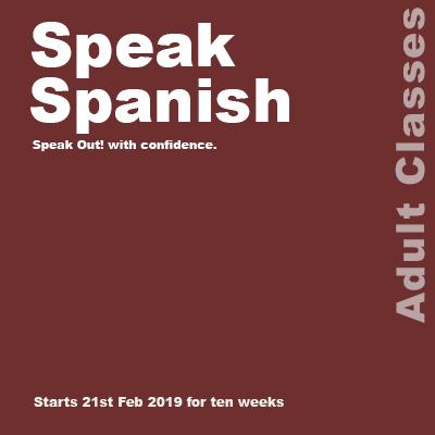 Speak Spanish web square