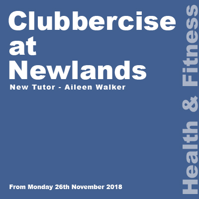 Clubbercise at Newlands link