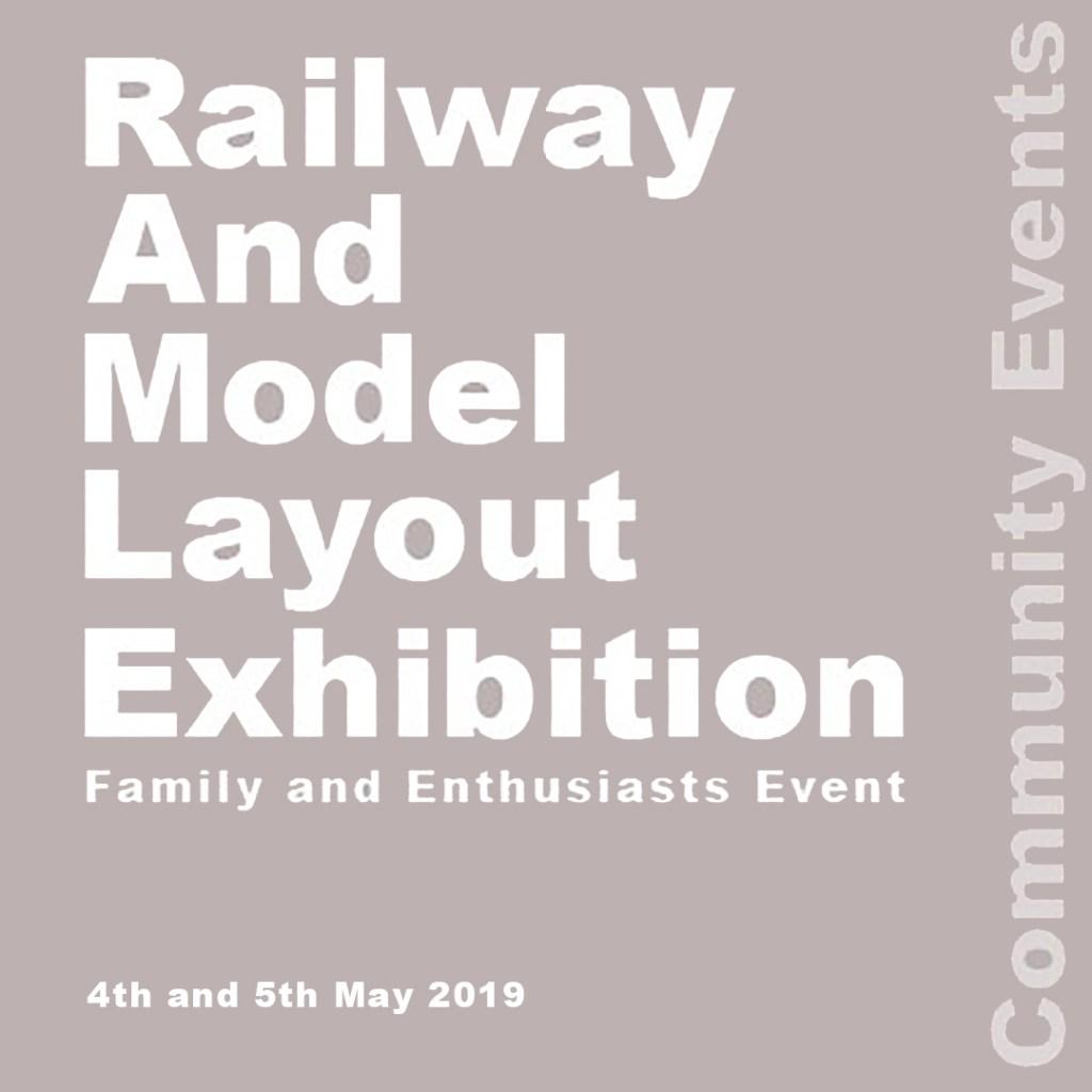 Railway & Model Rail Exhibition 2019 poster