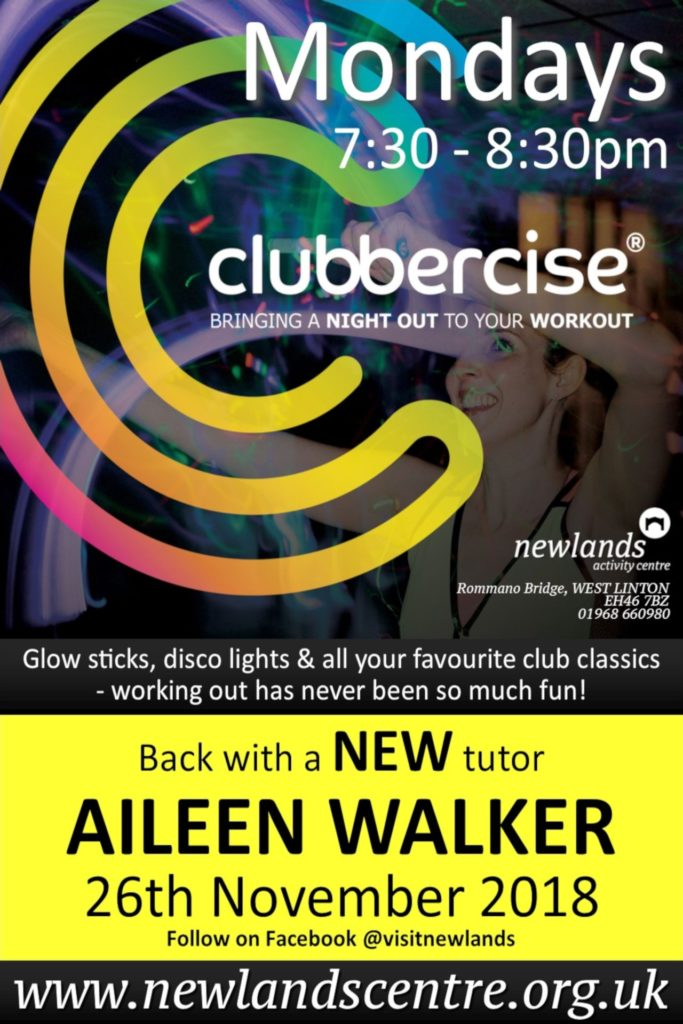 Clubbercise at Newlands poster
