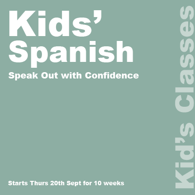 Kids' Spanish lessons