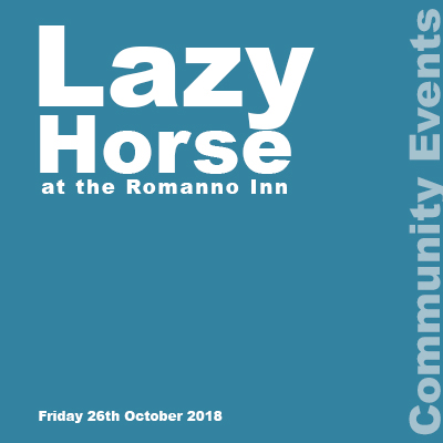 Lazy Horse concert notification