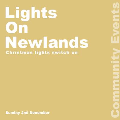 Lights On Newlands Event Logo