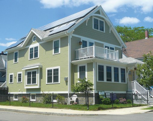 Solar Panels on Craftsman house