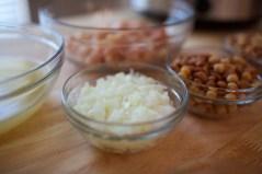 1 chopped yellow onion