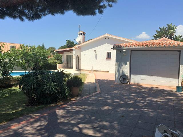 Costabella beachside villa with pool