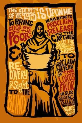 Luke 4:16-19 The Spirit of the Lord