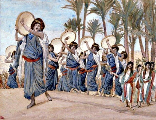 Mujeres de la Biblia que encabezó las celebraciones y Lamentaciones