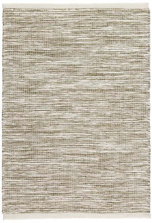 Newlife Rugs Stria green and white 100% recycled plastic rug