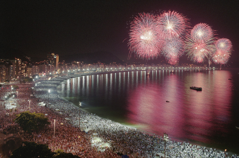 Image result for new years in rio de janeiro
