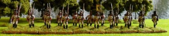 German Fusiliers Advancing - 1806 (helmet)