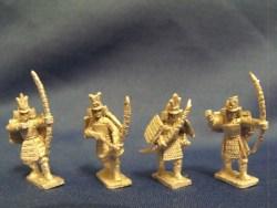 Samurai Warriors with Bows