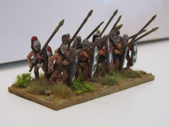 Early Mycenean or Minoan Pikemen