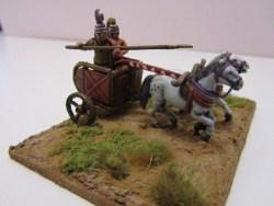 Mycenean Chariot and Crew