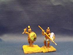 Hoplite Advancing (Muscle Cuirass)