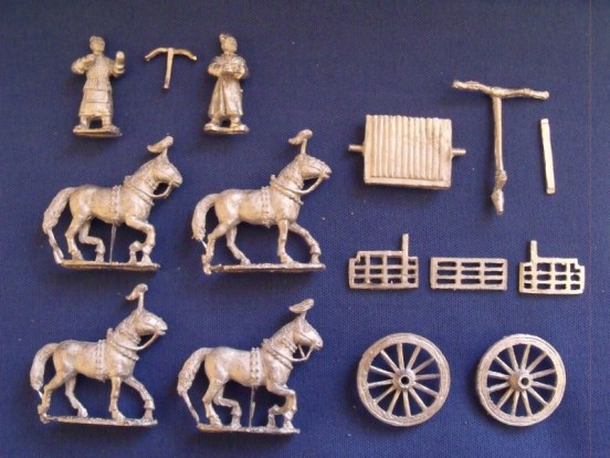 4 Horse Chariots and crew