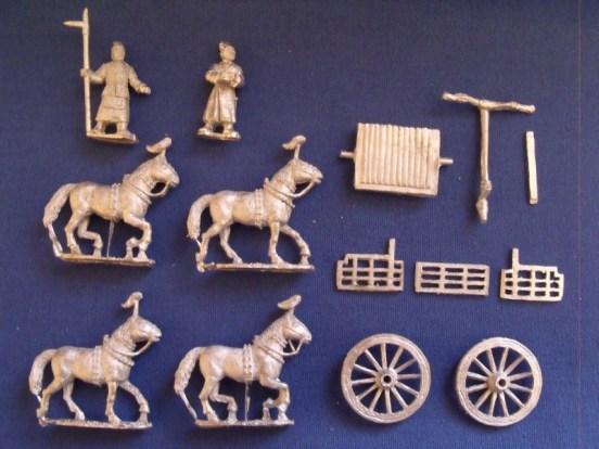 Generals, 4 Horse Chariots and crew