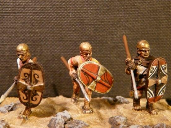 Spanish Scutari Advancing