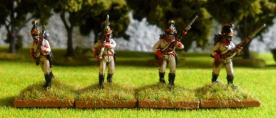 German Fusiliers Advancing ( Helmet )
