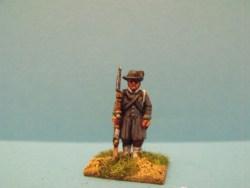 Austrian Landwehr Musket at Side