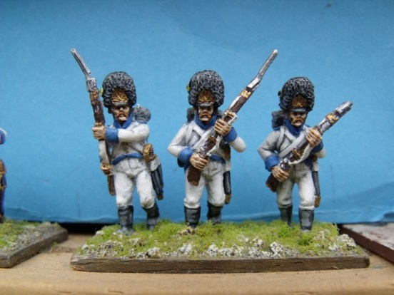 German Grenadier Advancing