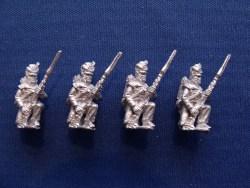 Flank Company Kneeling at Porte