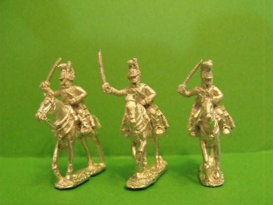 British Household Cavalry Charging