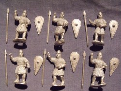 Norman Swordsmen/Spearmen in Chainmail