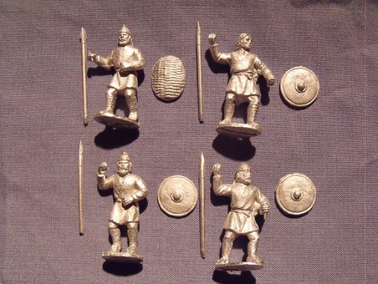 Saxon Infantry in Tunics