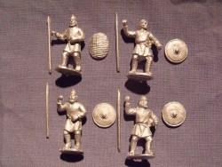 Saxon Infantry in Tunics