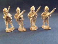 British Infantry Clean Shaven Advancing (4)