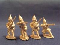 Burmese Regulars w/ European Rifles Skirmishing (4)