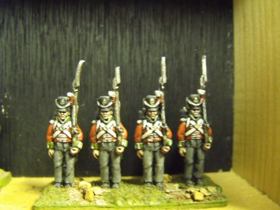 Centre Company Shouldered Musket