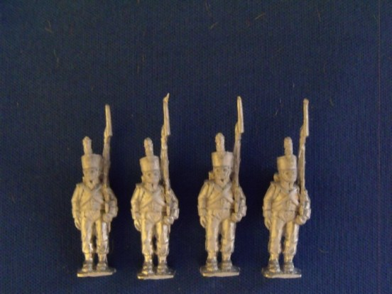 Line Infantry Standing in Reserve