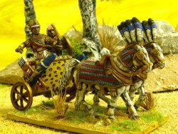 Pharaoh/Prince in Chariot with Driver