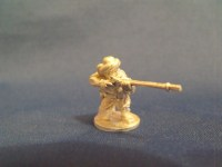 Barbary Pirate Kneeling Firing Musket
