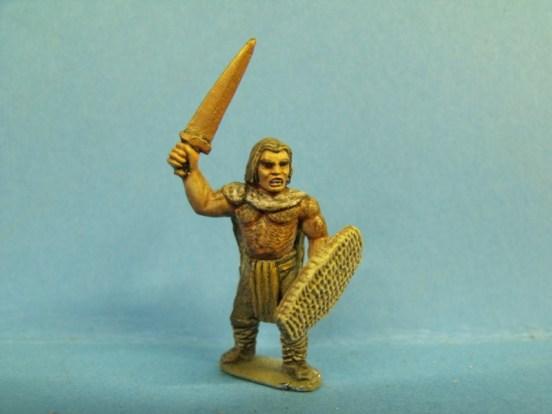 Barbarian - Standing, Fur Cloak, Sword