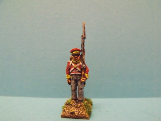 Hanoverian Landwehr Shouldered Musket